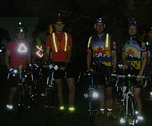 Team Alberta at the start