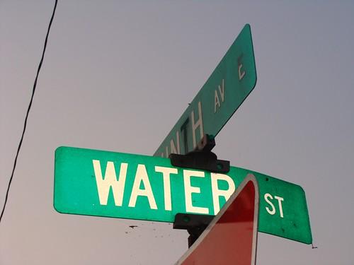 Water Street.