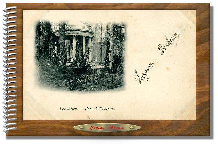 VERSAILLES - le Parc de Trianon