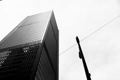 Black & White Side (Gabriel Daniel) Tags: seattle city windows sky skyscraper buildings downtown safeco blackandwhtie