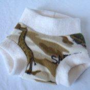 **$0.01 First Class Shipping** A Sahara Safari! Inspired Fleece Diaper Cover (Med)