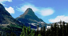 Mountain Majesty, Glacier National Park, Montana' Best (moonjazz) Tags: summer sky cloud inspiration snow wonder landscape rockies climb high perfect montana heaven power view earth glory large peak icon tourist best glacier clean clear explore summit vista layer geology glaciernationalpark awe viewpoint range preserve majesty continentaldivide goingtothesun monumental pristine 5photosaday flickrlovers