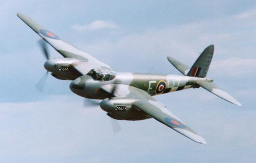 Warbird picture - DH98 Mosquito
