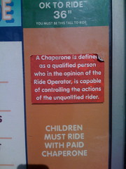 A chaperone is defined as a qualified person... by mradwin on Flickr!