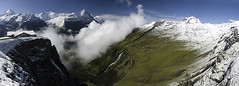 First (Pavel Vanik) Tags: panorama mountains alps nature clouds canon landscape eos schweiz switzerland suisse swiss first greatshot grindelwald alpen svizzera alpi eiger 30d cantonbern 1755is mywinners