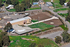 Golan Heights,winery in Moshav Eliad, 3419 (Ben Tov Collections) Tags: treessettlementbuildingsgolanheightswineryinmoshavel aerial israel aerialview photography to order this image please visit us at wwwbentovcom
