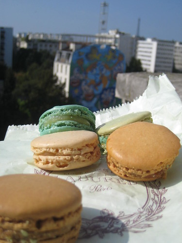 Macarons from Laduree, Paris, France