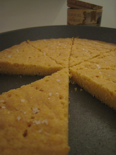 Cornmeal Shortbread