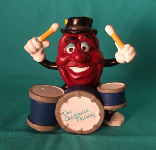 Vintage California Raisins Drummer