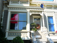 Recreation of the flag (maisnon) Tags: sf sanfrancisco noevalley folsomstreetfair