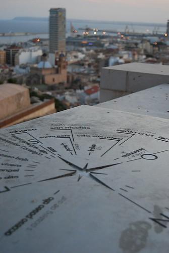 Los puntos cardinales de Alicante