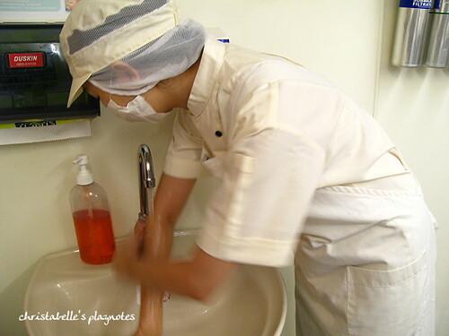 misterdonut廚房洗手