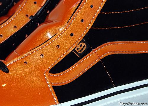 Vans Sk8-Hi Pumpkin Tag