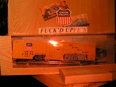 Diet / Erupto (cannibal holocaust) Tags: train graffiti model steel wheels freight