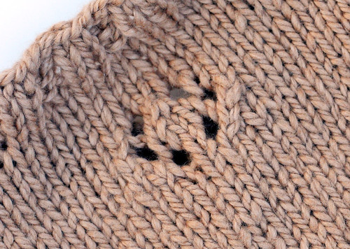 Twins' sweater detail