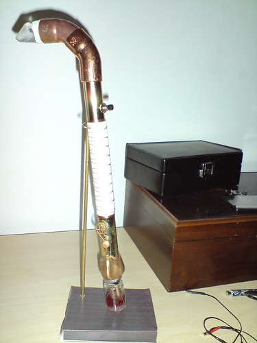 Steam powered sonic wave modulating screwdriver (steam screwdriver)