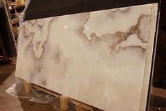 White Onyx 2cm (Mora Cabin) Tags: stone unitedstates natural minneapolis tm goldenvalley mn onyx polished countertop slabs whiteonyx terrazzomarblesupply