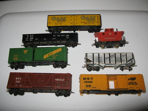 Antique rolling stock