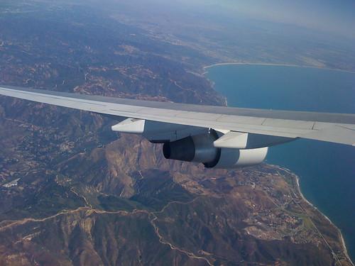 flight to Los Angeles