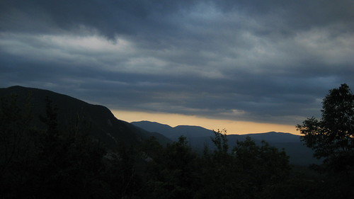 Twilight view of White Mountain