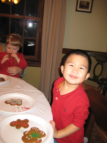 Owen and his gingerbread men