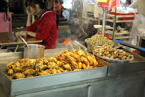 Shrimp at the night market