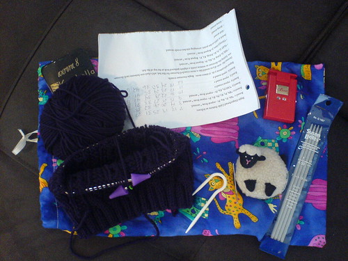 Traveling Knitting Kit