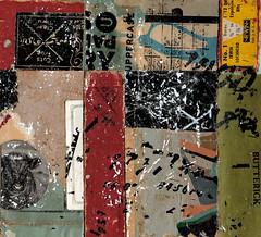 (dailypoetics) Tags: art collage vintage paper mixed media collages ephemera transfer letraset