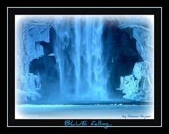 Falling in BLUE 4u... (FotoManiacNYC) Tags: blue ny newyork nature water waterfall bluewater glen gorge newyorkstate soe naturesfinest flickrsbest theunforgettablepictures naturewatcher
