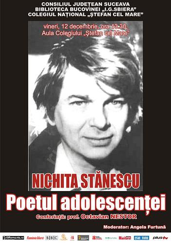 12 Decembrie 2008 » Nichita STĂNESCU - Poetul adolescenţei