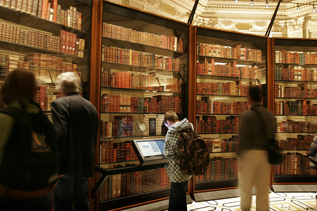 Thomas Jeffersons Library Book Explorer by Second Story