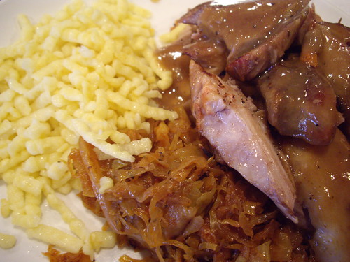 Braised Pork and Sauerkraut from Oleg's Tavern
