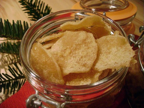 Homemade Crystallized Ginger
