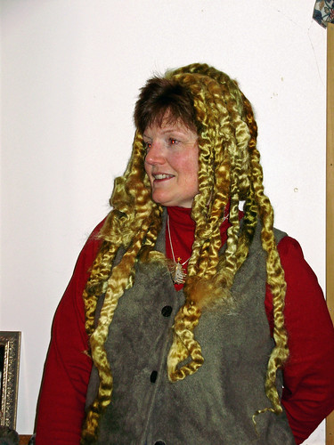 mohair dreads