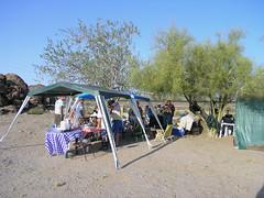 Wine-Wasting-Setup (Clay Gilliland) Tags: railroad arizona desert trains winetasting unionpacific railfan southernpacific shawmut railfans combatrailfan gilaline combatrailfans