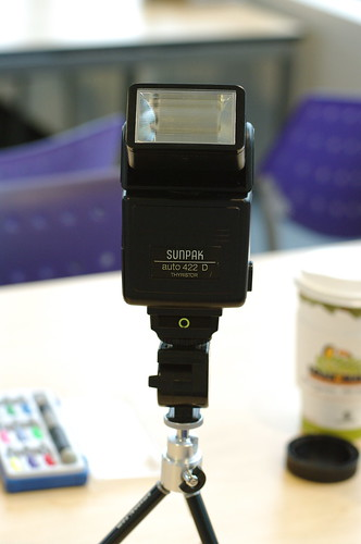 Sunpak 422D thyristor flash and Pentax F 35-70mm f/3.5-4.5