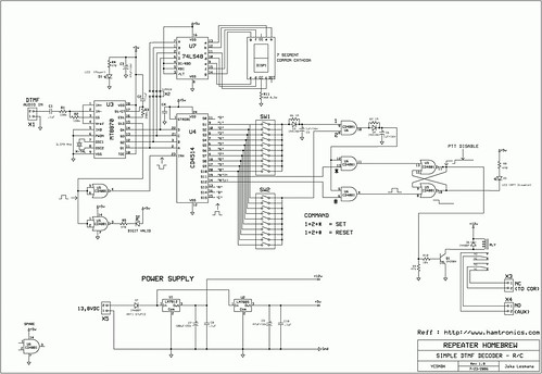 DTMF Schematic