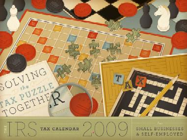 2009 IRS Calendar