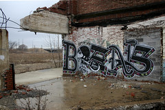 BOANS (Hahn Conkers) Tags: ohio graffiti reader cleveland bones readmore mrbones bookman readmorebooks boans