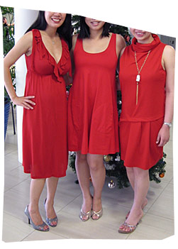 Red Dresses for Christmas