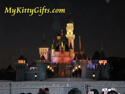 Hello Kitty's View of Sleeping Beauty Castle, Hong Kong Disneyland