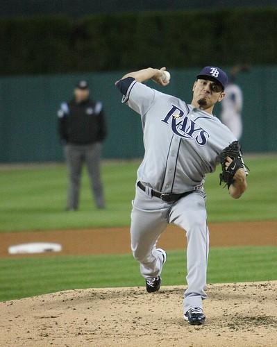 Matt Garza Tampa Bay Rays