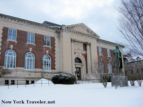 Utica Public Library Exterior 1