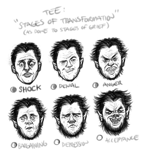 6 Stages of Transformation (Completed Pencils)