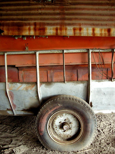 Rusty truck, Sugar Factory, St Kitts