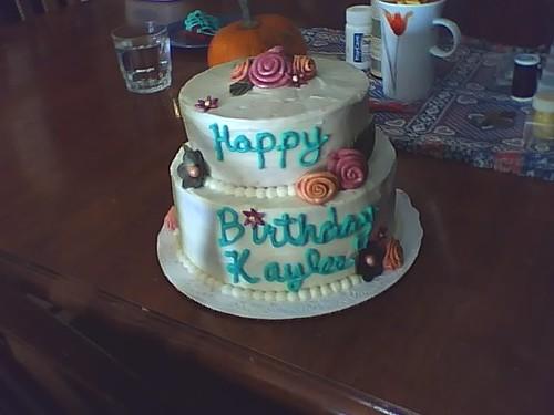 Peachy Kaylees 22Nd Birthday Cake A Photo On Flickriver Birthday Cards Printable Trancafe Filternl