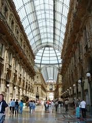Galleria Vittorio Emanuele II - Interior (Yure y Maureen) Tags: milano miln