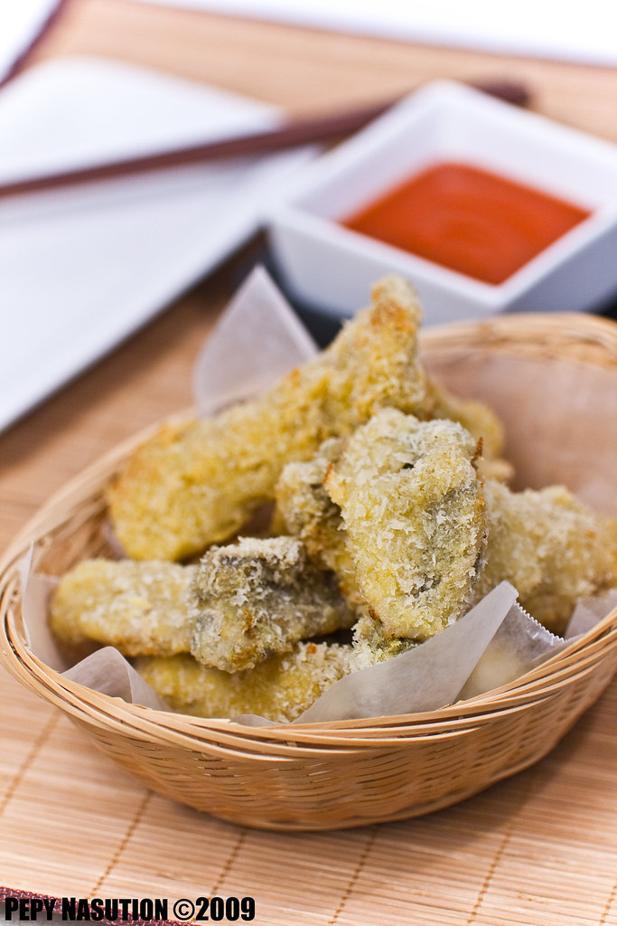 Breaded Curried King Oyster Mushroom 2