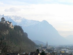 Vaduz city skyline (The capital of Lichtenstein) (phototouring) Tags: above city houses urban panorama mountain snow mountains alps castle castles church nature silhouette skyline buildings landscape landscapes town scenery europe cityscape view rooftops small hill cities silhouettes cityscapes skylines churches landmarks medieval fromabove roofs views liechtenstein peaks distance towns fortress oldcity sights attraction attractions distant vaduz urbanization urbanisation microstates stflorin ministates easternalps