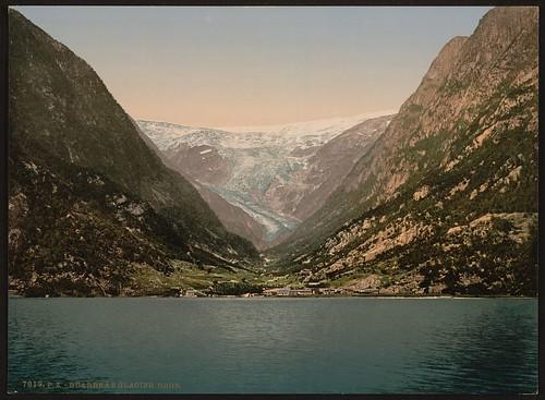 [Buerbrae Glacier, Odde, Hardanger Fjord, Norway] (LOC)